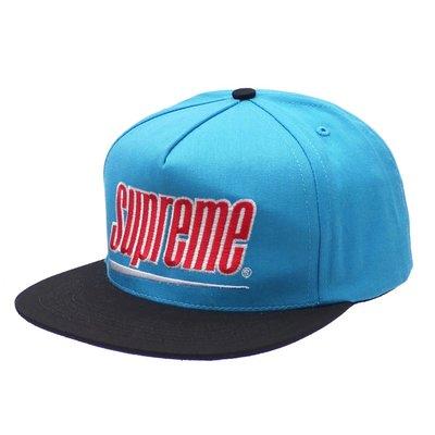 【紐約范特西】代購 2018SS Supreme Underline 5-Panel Snapback Hat Cap