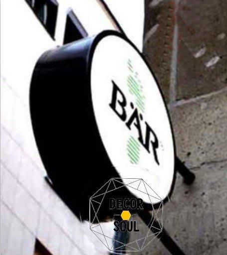 DS北歐家飾§ 營業用 壓克力 雷射切割燈箱廣告招牌設計 客制訂製 創意質感風格工業豐裝潢酒吧店面餐廳規劃大圖輸出LED