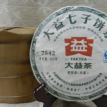 天使熊小舖~雲南2012年批次201勐海茶廠大益【7542~201】直購價一餅1500 純乾倉存放