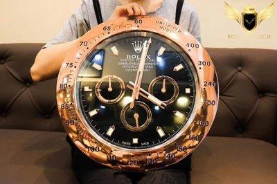 Rolex 勞力士 手錶面盤 DAYTONA 數字 靜音 夜光 時鐘 掛鐘