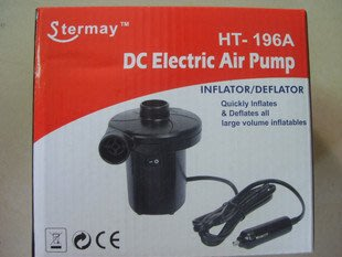 HT-196A 車用充氣機 車載電泵 充、抽氣電泵 電動充氣泵 戶外充氣泵stermay