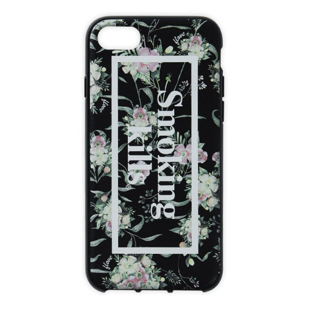☆AirRoom☆【現貨】FLOVE X FR2 X Gizmobies iPhone7 CASE 手機殼 黑 花卉