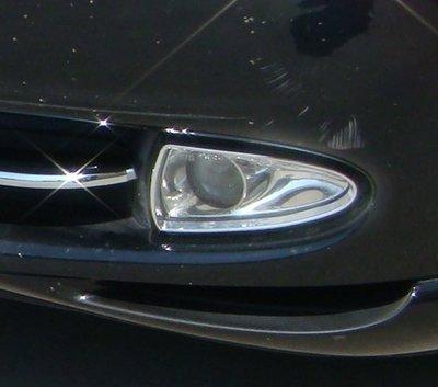 金螃蟹 Jaguar 積架 S Type X200 99-02 鍍鉻霧燈框 英國設計 台灣製造 改裝 精品 配件
