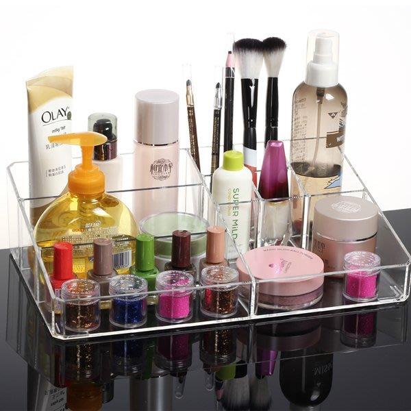 5Cgo【鴿樓】會員有優惠 19234078036 桌面化妝品收納盒 透明創意塑料盒化妝盒 收納化妝品彩妝卸妝 特大號