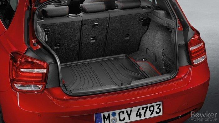 【樂駒】BMW F20 原廠 Sport Line 全天候 後車廂 行李廂 襯墊 防水 防汙紅邊 車內 周邊 精品