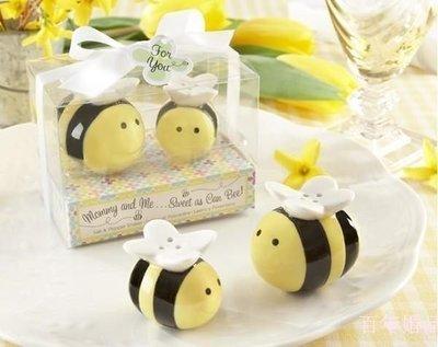 ☆命中注定☆蜜蜂調味罐,二次進場,婚禮小物,歐美禮品