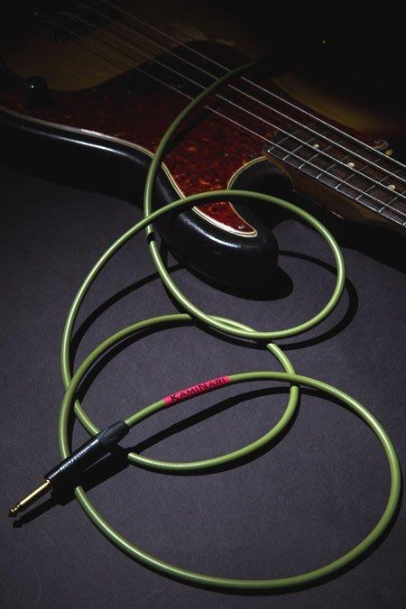 【名人樂器】Kaminari【神鳴】日本極品 手工 導線 音色質感極佳 電貝斯BASS 5米