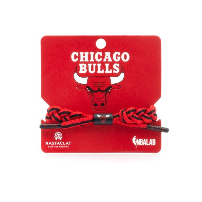 【Brand T】RASTACLAT NBA CHICAGO BULLS 芝加哥公牛隊*球隊*鞋帶*手環*雷獅特*衝浪