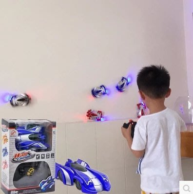 『格倫雅品』益智爬墻車遙控汽車吸強車攀爬四驅漂移賽車兒童充電動玩具男女孩