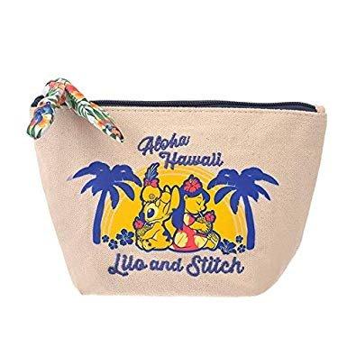 41+現貨不必等 正版 迪士尼專賣店 Hawaiian Stitch 史迪奇 莉蘿 夏威夷風 收納包 化妝包 小日尼三