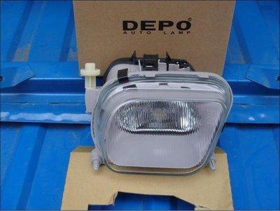 {阿勳精品}~ BENZ W210 96-99 前保標準型霧燈......DEPO製