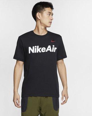 NIKE AIR T 男款 短袖 短T 運動T 休閒 黑色 CK2233-010 全新預購
