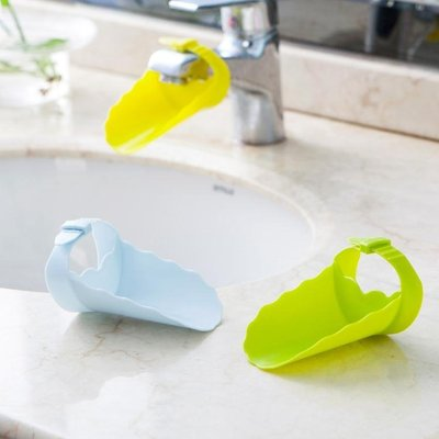 買一送一 廚房濾水器水龍頭延伸器水池水槽引水器寶寶兒童洗手器洗手延長器