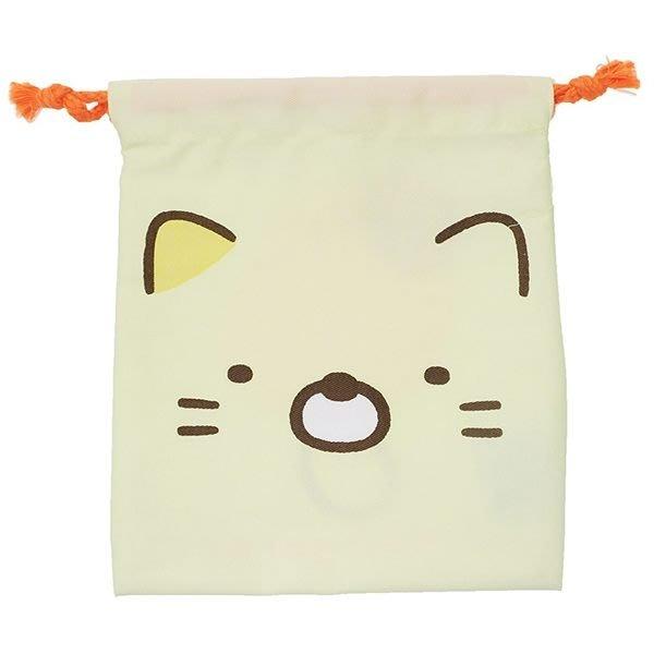 【角落生物束口袋】角落生物 束口袋 收納袋 貓咪 日本正品 該該貝比日本精品 ☆