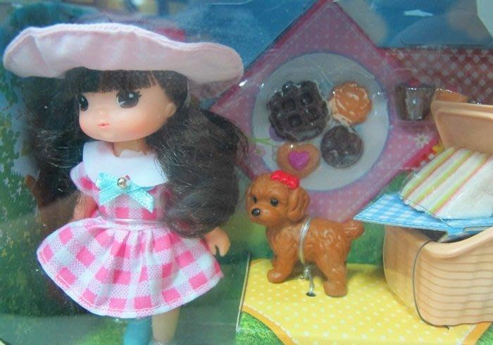 【阿LIN】12533A 迷你MIMI野餐組 韓國 MIMI WORLD 洋娃娃 玩偶 人偶 家家酒 正版 ST安全玩具