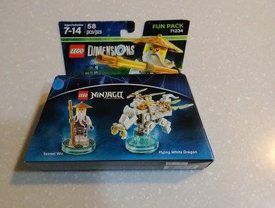 全新樂高Lego 71234 Dimensions  次元系列 忍者 吳大師 Sensei Wu 台中市