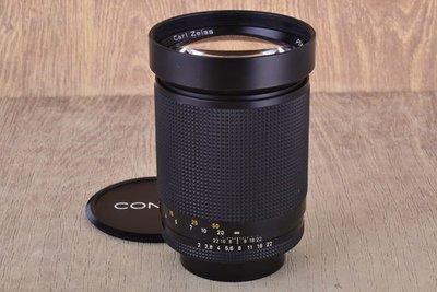 【品光攝影】Contax Carl Zeiss Planar T* 135mm F2 135/2 AEG CY口 可轉接M43 NEX #38237J