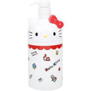 日本三麗鷗HELLO KITTY/美樂蒂按壓式補充瓶 收納瓶