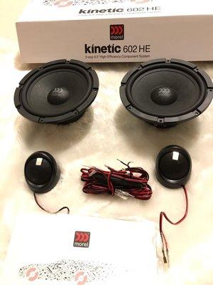 英國Morel 手工超值好喇叭kinetic 602 6.5吋分音喇叭