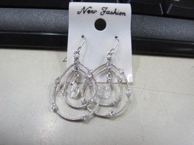 二手舖 NO.4495 時尚造型耳環 耳針 耳鉤 便宜賣 首飾飾品