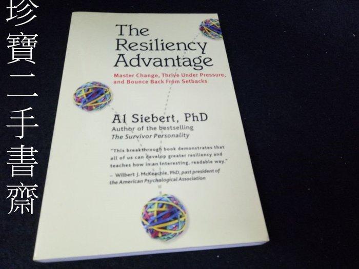 【珍寶二手書齋3B8】The Resiliency Advantage9781576753293
