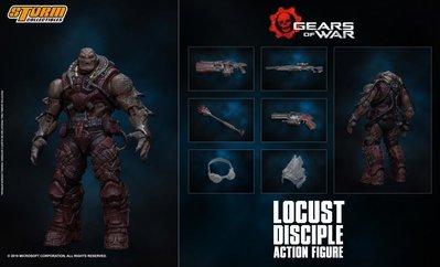 全新 STORM TOYS 1/12 戰爭機器 Warden Disciple Locust Disciple