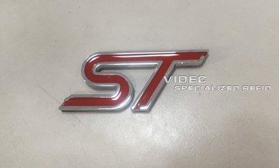 大台南汽車精品 HID 福特 FORD ST LOGO 紅色 MK3