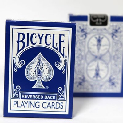 【USPCC 撲克】BICYCLE REVERSED 反藍冰2代 (BLUE ice V2)