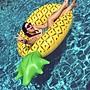 游泳圈 成人救生圈-獨特創意可愛鳳梨水上活動坐騎浮板2款73ez3[獨家進口][米蘭精品]
