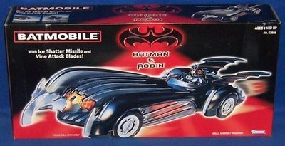 金錢貓雜貨 全新 Kenner 蝙蝠俠 Batman & Robin 蝙蝠車 Batmobile