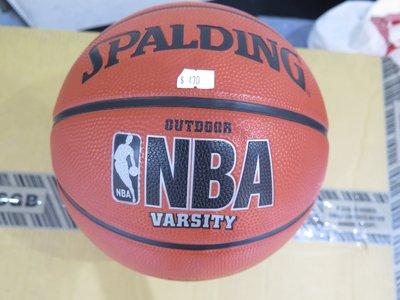 【iSport愛運動】SPALDING NBA VARSITY 七號籃球 正品 SPA63307