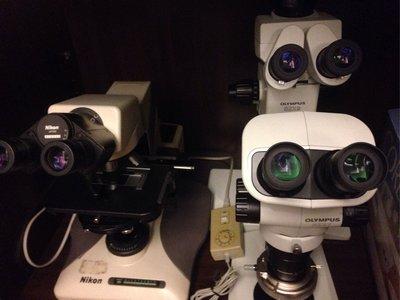 生物顯微鏡,實體顯微鏡 金相顯微鏡 有OLYMPUS NIKON LEICA ZEISS