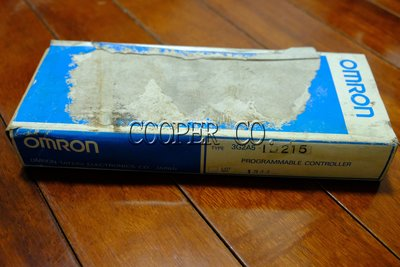 【Cooper.Co】OMRON 歐姆龍可程式控制器 PLC 3G2A5-ID215 新品中古良品停產品現貨銷售維修