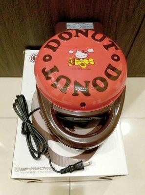 sanrio hello kitty甜甜圈鬆餅機