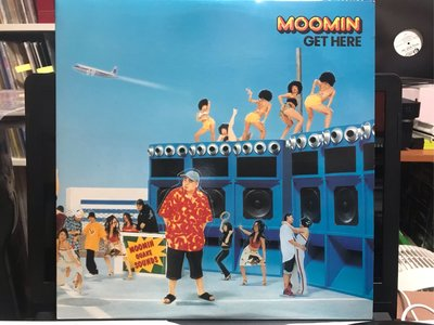 MOOMIN/GET HERE 日本R&B歌手 兩片裝 黑膠唱片