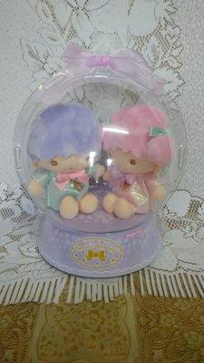 雙子星店 Sanrio Little Twin Stars 雙子星  毛公仔圓型禮盒 日本