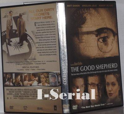 E4/ 正版DVD / 特務風雲 THE GOOD SHEPHERD (心靈捕手 麥特戴蒙)