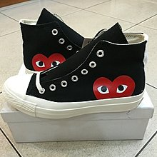 Converse x CDG 川久保玲 CT1970 All Star 黑 愛心 高筒 男 女 情侶滑板鞋