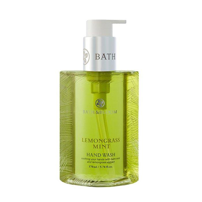 新入荷! 全新包裝【Bath Bloom】檸檬草薄荷香氛洗手乳 170ml~潔淨易沖洗~保濕護手