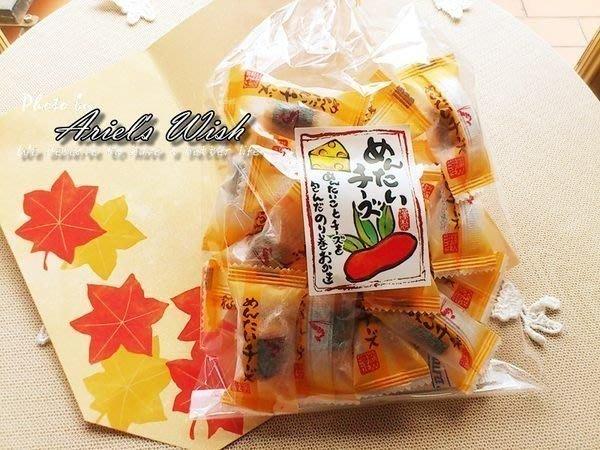 Ariel's Wish日本知名品牌超級好吃起司明太子醬油海苔仙貝餅乾微微辣一口接著一口好唰嘴唷--日本製--現貨*2