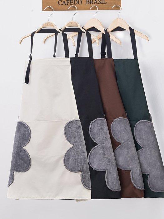 (2入500元) 日本主婦愛用 廚藝媽媽教室 烘焙課 簡約可愛圍裙 防水防油 擦手圍裙 貼心設計  |悠飾生活|
