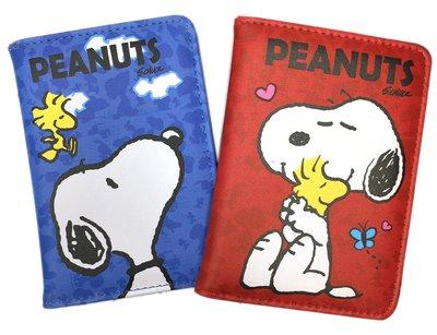【卡漫迷】 Snoopy 皮質 護照套 二款選一 ㊣版 仿皮 證件夾 史奴比史努比 收納本 PU皮 糊塗塔克 卡套本