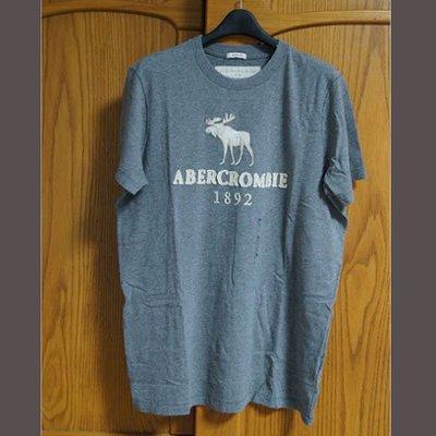 美國AMPM 【現貨】AF / A&F 男版 Tupper Lake 灰色麋鹿T恤 / M號