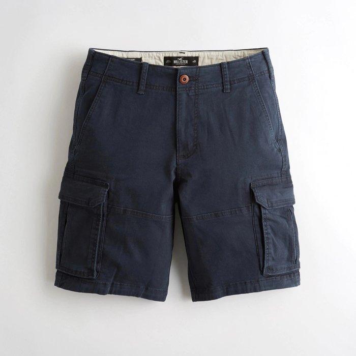 【HOLLISTER Co.】【HCO】HC男款工作短褲19款黑藍 F07190716-10