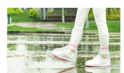 SAFEBET 雨鞋套 旅游防滑防雨雨鞋套 防水套高筒雨靴套便利鞋套雨鞋-a