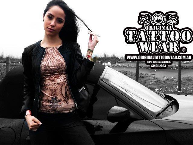 獨家限量發售Original Tattoo Wear澳洲原創紋身衣著超真實 紋身衣 刺青衣 紋身袖套 刺青手臂 半甲全甲