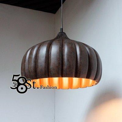 【58街】北歐風格,銅製「俄羅斯吊燈」美術燈。複刻版。GH-443