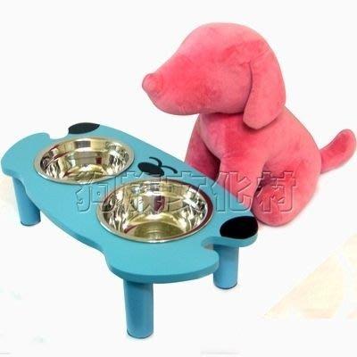 ☆~狗族遊樂園~☆【老犬適用】可愛貓臉狗臉造型實木寵物餐桌【6種可選】