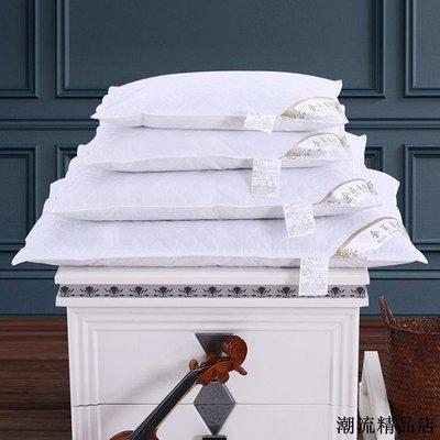 全棉純蕎麥殼枕芯單人學生兒童絎縫可拆洗成人保護枕頸椎純棉枕頭