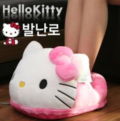 韓國 Hello Kitty 超大毛絨絨保暖腳墊 暖腳包 暖腳套│不含電暖器│z6777